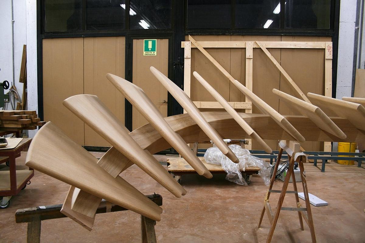 Trave centrale curvo de stalis scale - Scale autoportanti in legno ...