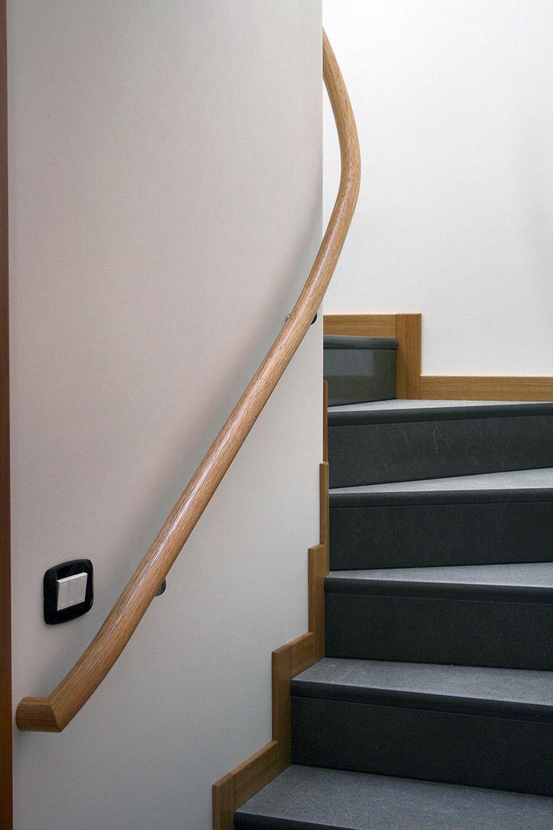 Corrimano a muro elicoidale de stalis scale - Corrimano per scale interne a muro ...